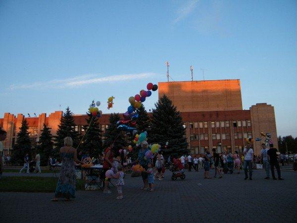 Вчера в Горловке отпраздновали Международный день молодёжи, фото-8