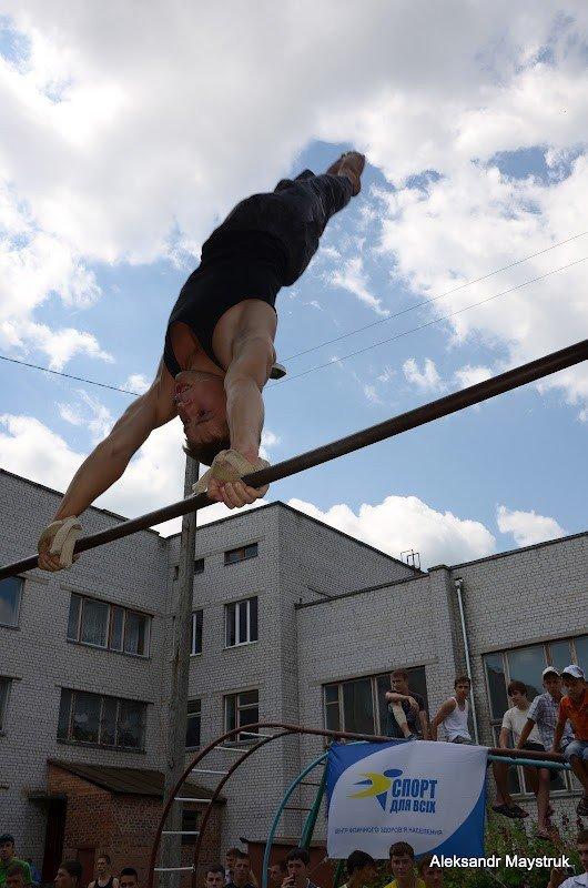 У Житомирі проведено змагання з Street Workout, фото-1