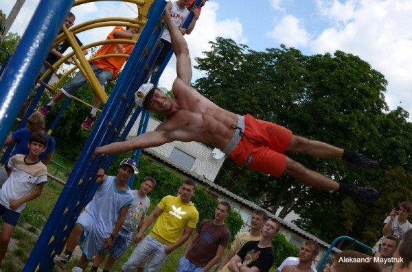 У Житомирі проведено змагання з Street Workout, фото-4