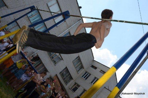 У Житомирі проведено змагання з Street Workout, фото-8