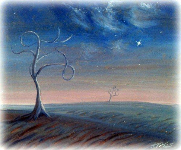 Горловский художник раскрыл в картинах космос, фото-2