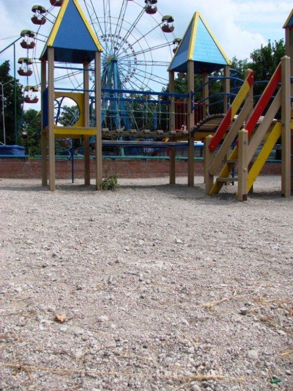 Песок на детскую площадку в центральном парке обещают завести в ближайшие сроки, фото-5