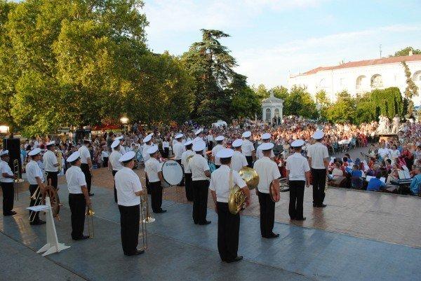 В Севастополе 24 июня торжественно открыли XIV международный фестиваль детского творчества «Золотая рыбка - 2012» (ФОТО), фото-4