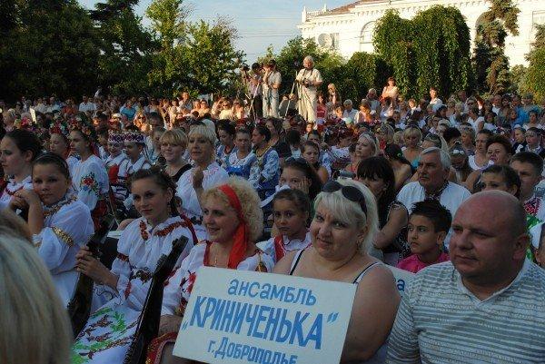 В Севастополе 24 июня торжественно открыли XIV международный фестиваль детского творчества «Золотая рыбка - 2012» (ФОТО), фото-6