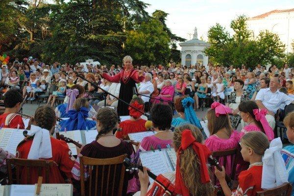 В Севастополе 24 июня торжественно открыли XIV международный фестиваль детского творчества «Золотая рыбка - 2012» (ФОТО), фото-7