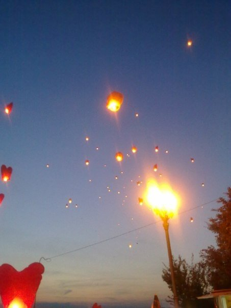 У Тернополі запустили небесні ліхтарики (ФОТО), фото-4