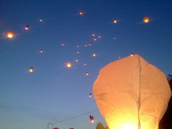 У Тернополі запустили небесні ліхтарики (ФОТО), фото-2