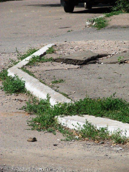 Артемовск: на бордюры денег нет!, фото-1