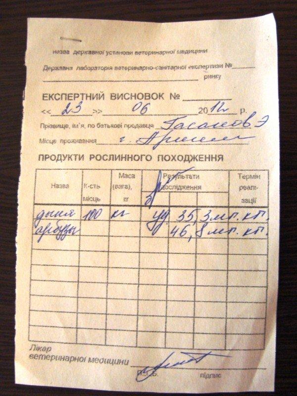 Сайт 06274 выяснял, какие арбузы продают артемовцам, фото-1