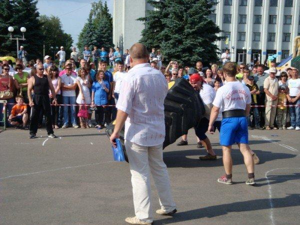 Богатирі із Житомира, переможці V відкритого турніру  Полісся «Козацькі розваги», фото-1