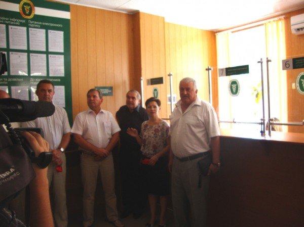 Відкриття Центру обслуговування платників податків Бердянської ОДПІ (ФОТО), фото-1
