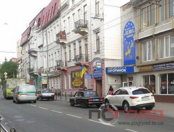 У Тернополі мажор збив дитину на пішохідному переході (фото), фото-1