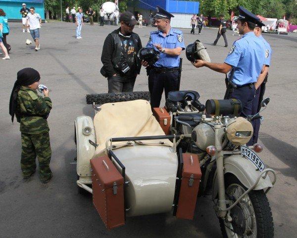 Донецкая Фан-зона приняла фестиваль байкеров (фото), фото-1