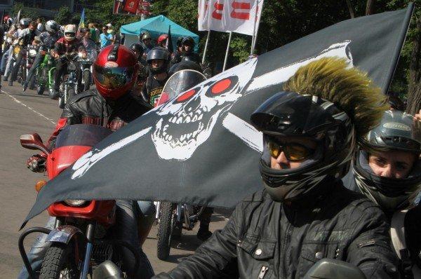 Донецкая Фан-зона приняла фестиваль байкеров (фото), фото-2