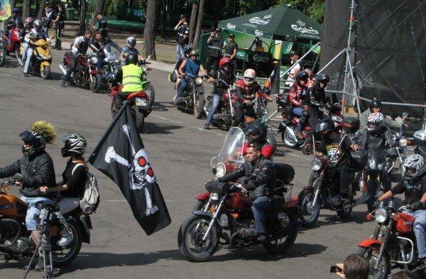 Донецкая Фан-зона приняла фестиваль байкеров (фото), фото-3
