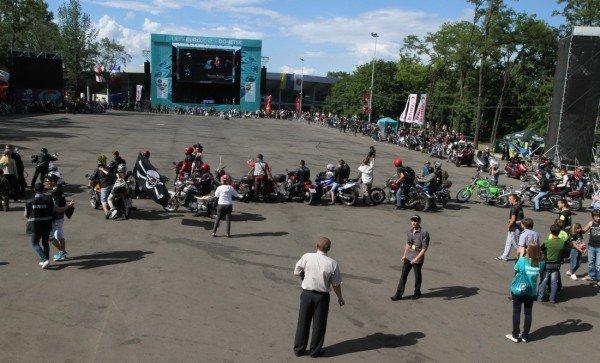 Донецкая Фан-зона приняла фестиваль байкеров (фото), фото-4