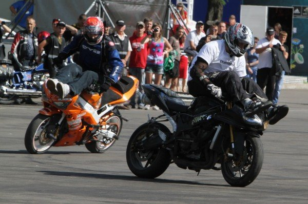 Донецкая Фан-зона приняла фестиваль байкеров (фото), фото-6