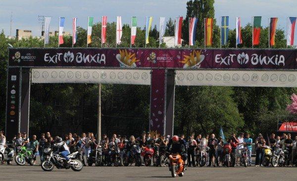 Донецкая Фан-зона приняла фестиваль байкеров (фото), фото-7