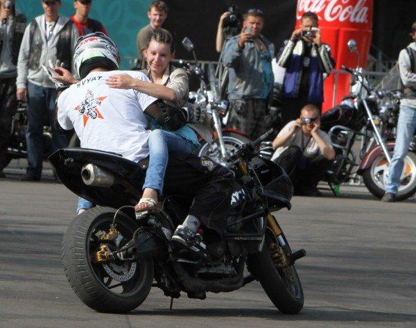 Донецкая Фан-зона приняла фестиваль байкеров (фото), фото-9
