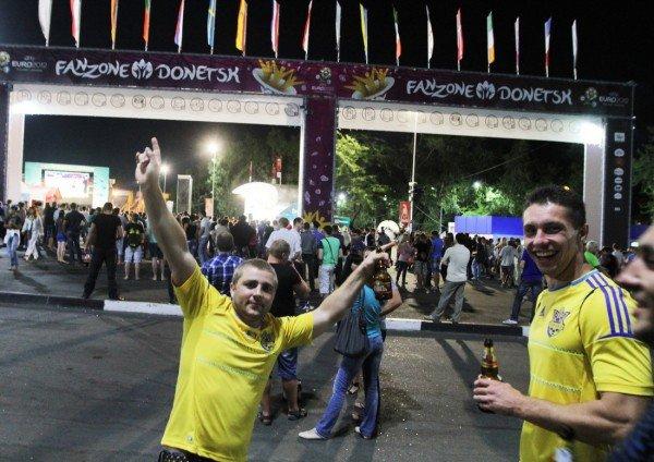 Донецк простился с Евро-2012 (фото), фото-1