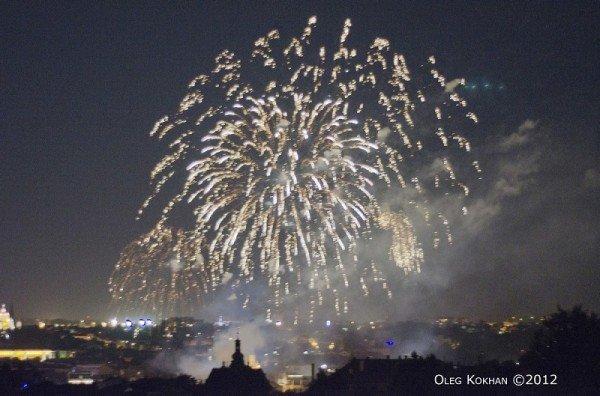 Завершення Євро у Львові відзначили феєрверком (ФОТО), фото-1