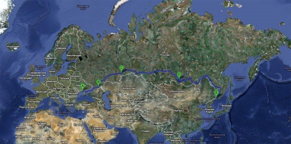 Херсонцы вернулись из автопробега во Владивосток, фото-1