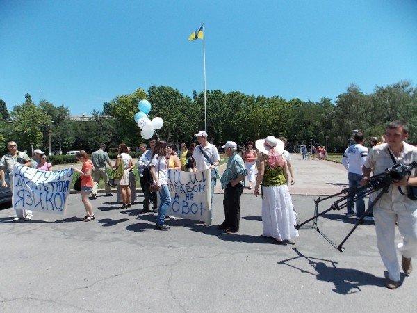 Одесский губернатор сбежал от горожан, которые пытались научить его грамотно писать (фото), фото-1