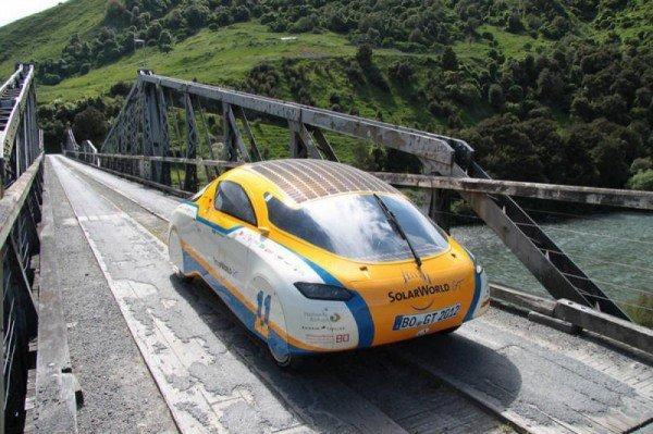 По трассе Одесса-Николаев проехал настоящий солнцемобиль (Фотофакт), фото-6