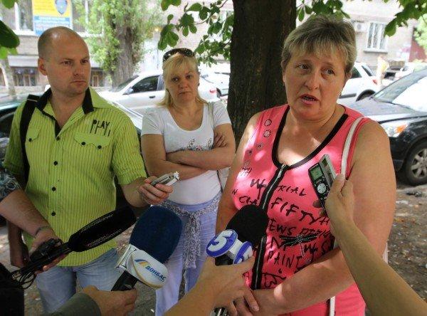 В Донецке начался суд над обвиняемыми в убийстве пятерых сотрудников Приватбанка (фото), фото-12