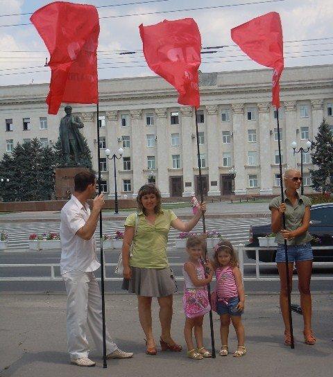 Защитим украинский язык! Митинг в Херсоне! (фото), фото-3