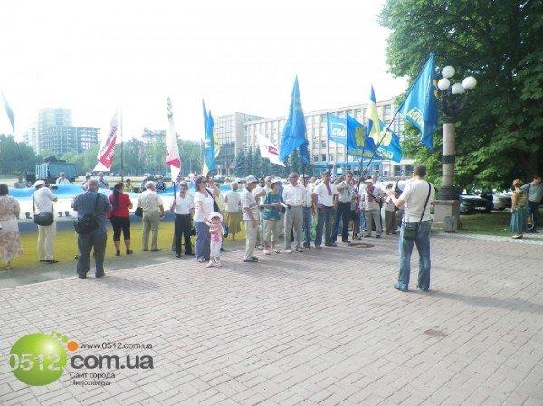 Николаевцы решили не отставать от западных «коллег» и поблагодарили Донбасс за президента (ФОТО), фото-7