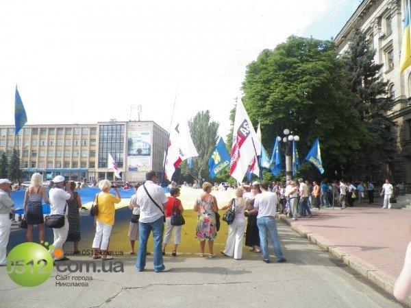 Николаевцы решили не отставать от западных «коллег» и поблагодарили Донбасс за президента (ФОТО), фото-9