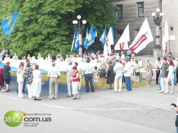 Николаевцы решили не отставать от западных «коллег» и поблагодарили Донбасс за президента (ФОТО), фото-11