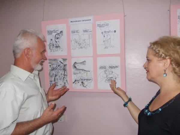 «Артемовск в Лицах»: карикатурист Александр Ковтун представил выставку своих работ в музее и на Сайте города Артемовска, фото-4