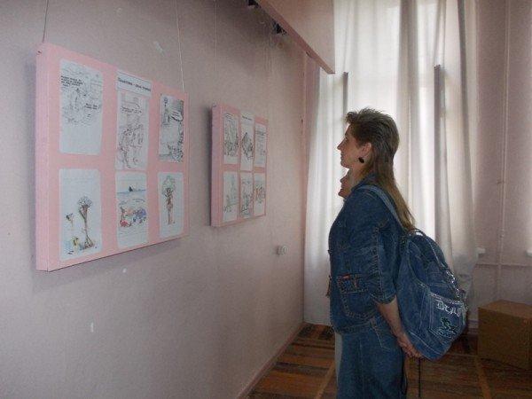 «Артемовск в Лицах»: карикатурист Александр Ковтун представил выставку своих работ в музее и на Сайте города Артемовска, фото-5