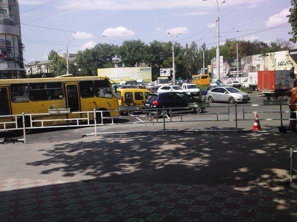Пробки в центре города, фото-1