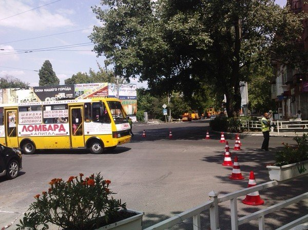 Пробки в центре города, фото-4