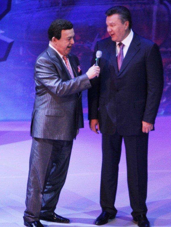 Как Янукович пел с Кобзоном в Донецке (фото, видео), фото-1