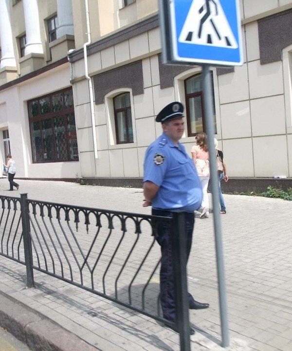 В Донецке визит Януковича проходит в обстановке усиленных мер безопасности (фото), фото-1