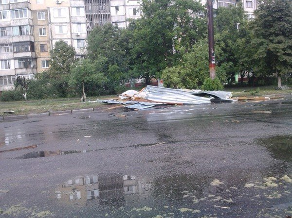 Давно невиданная стихия в Херсоне!!!, фото-1
