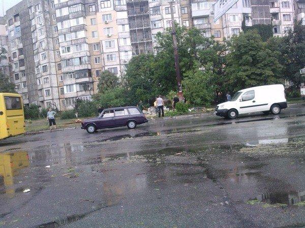 Давно невиданная стихия в Херсоне!!!, фото-11