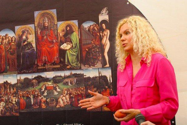 На выставке Оксаны Мась «Алтарь нации»., фото-2