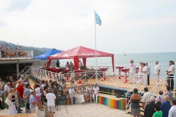 Пляж-солярий ялтинского отеля - это эталон «4 ракушек»., фото-11