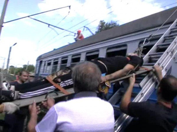 В Запорожье 16-летний москвич на крыше электрички доехал до реанимации (ФОТО), фото-3