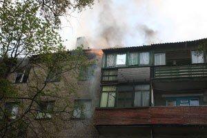 Под Донецком горел пятиэтажный дом (фото), фото-2