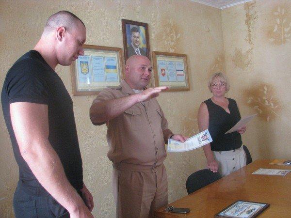 Ялтинский заповедник отметил отличившихся на тушении пожара, фото-1