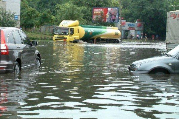 Одесская маршрутка на Балковской потеряла колесо (Фоторепортаж), фото-2