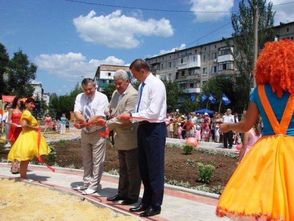 Соледарцы выиграли грант Сергея Клюева и превращают пустырь в Парк Шахтерской Славы, фото-8