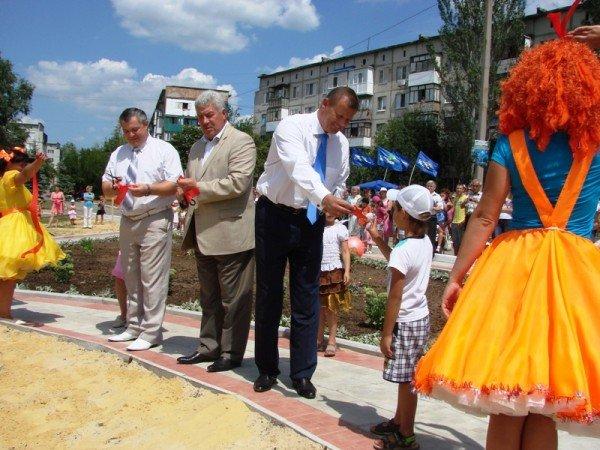Соледарцы выиграли грант Сергея Клюева и превращают пустырь в Парк Шахтерской Славы, фото-9