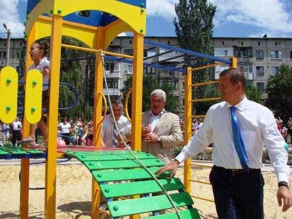Соледарцы выиграли грант Сергея Клюева и превращают пустырь в Парк Шахтерской Славы, фото-10